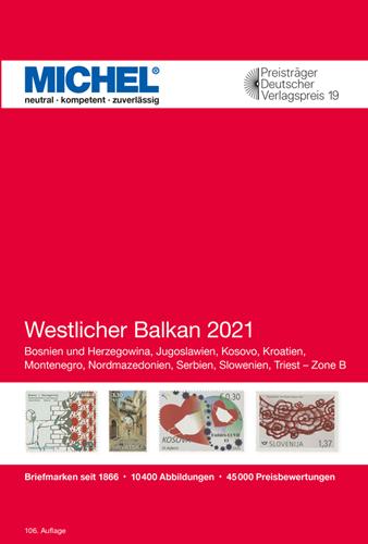 Afbeelding van Michel catalogus Europa 6 West Balkan